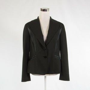Charcoal gray black DONCASTER blazer jacket size12